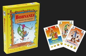 Bohnanza, le commerce de haricots.
