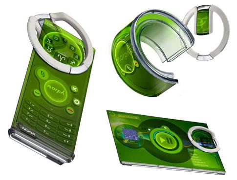 Nokia et sa gamme morph