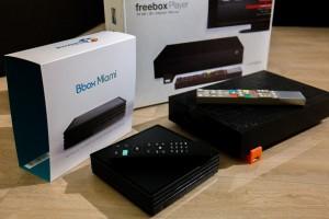 Comparaison Freebox Revolution et BBox Miami